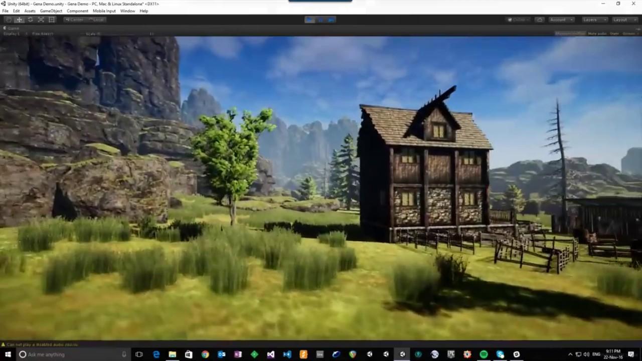Unity Asset Store Pack - GeNA - Terrain Generator Editor Extension  (Download link in description)