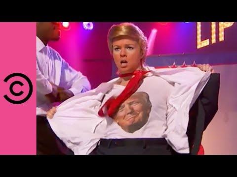 Amber Tamblyn's Hilarious Sexy Trump Performance  Lip Sync Battle