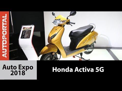 Honda Activa 5G at Auto Expo - 2018