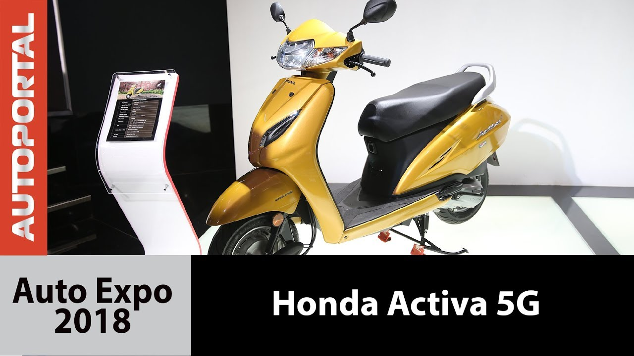 Honda Activa 5G at Auto Expo - 2018