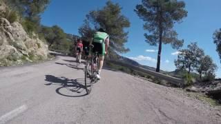 Majorca 2017, Climb from Esplores
