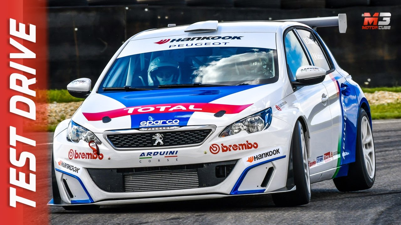 New Peugeot 308 Racing Cup 2017 First Test Drive Youtube