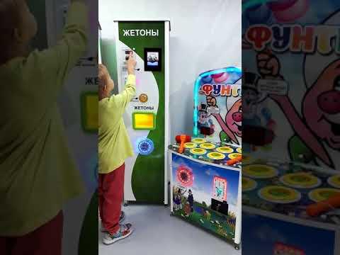 Автомат по продаже жетонов Robotail Ru