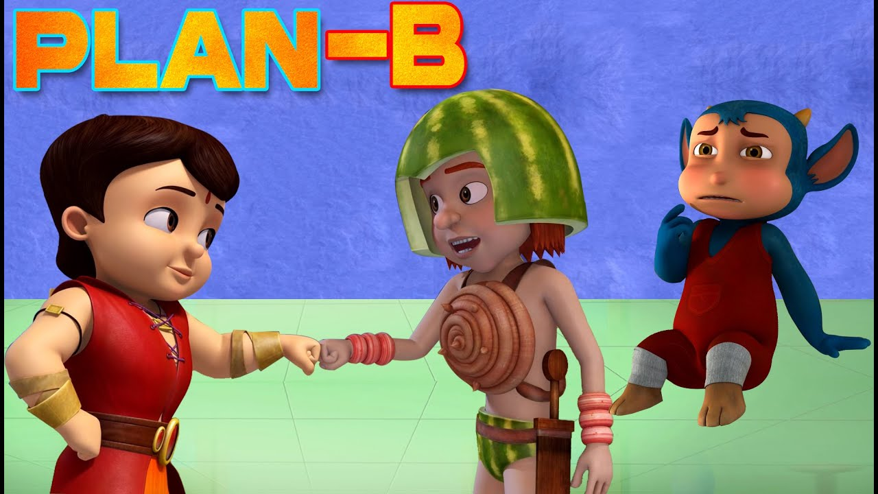 Super Bheem - Planet Pirate Trouble | अजीब ग्रह की कहानी | Cartoons for Kids in Hindi
