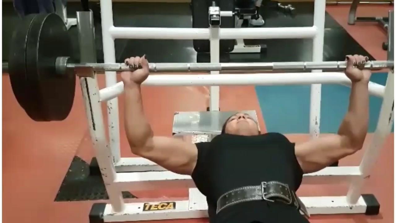 Renata Hronova Women Bench Press 100kg X 10 Women S