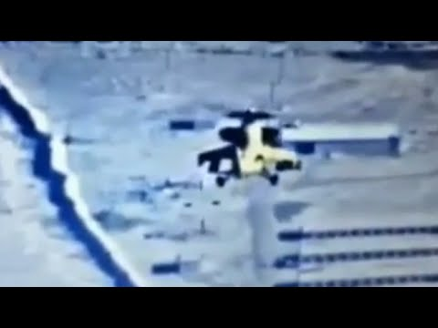 LiveLeak - Mi 35 takes out ISIS armored humvee somewhere in Anbar