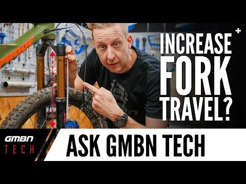 Can You Increase Your MTB Fork's Suspension Travel? | Ask GMBN Tech