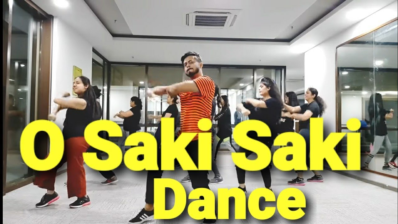 O SAKI SAKI | Amit zumba dance fitness  workout Choreography ft. Nora Fatehi & Tulsi Kumar