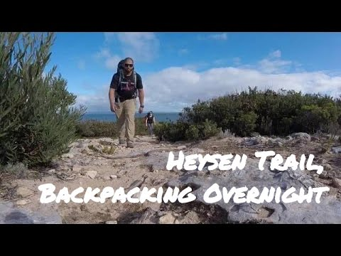 Heysen Trail Backpacking Overnight, Adelaide Australia
