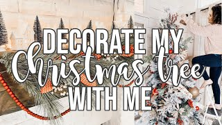 DECORATE WITH ME FOR CHRISTMAS | Christmas Tree + Mini Grocery Haul