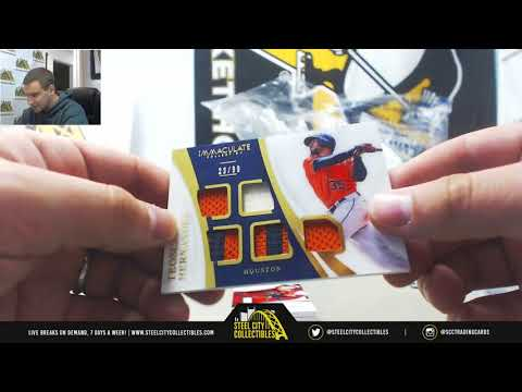 Jordan-(1) 2017 Topps Triple Threads, Panini Immaculate BB Live Break