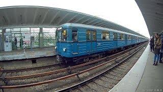 Станция метро Выхино, конечная (1 ноября 2017 года)