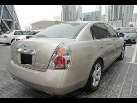 2012 Nissan Altima For Sale >> Nissan Altima 2006-Gold for sale in Qatar - YouTube