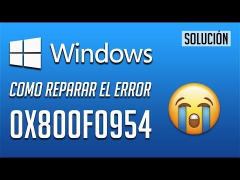 .net framework 3.5 error 0x800f0954 windows 10