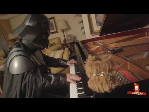 Star Wars - Darth Vader Plays the Imperial March on Piano