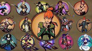 Shadow Fight 2 - Бой против всех Девушек в Игре!