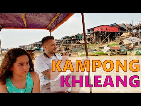 Visiting one of the Siem Reap Floating Villages: Kampong Khleang