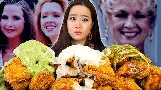 NEW! Korean Wasabi Snow Fried Chicken Mukbang (VANISHED IN THE NIGHT SPRINGFIELD 3 MISSING CASE)