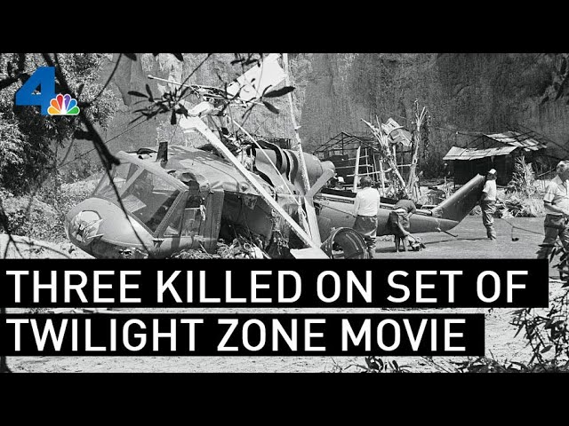 Freak Accident Kills Three On Set Of Twilight Zone Movie From The Archives Nbcla Youtube