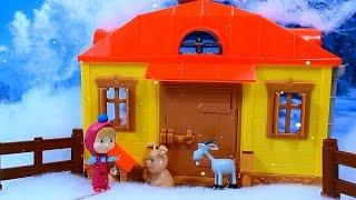 Маша и медведь  Мультфильм.для детей из игрушек. Письмо святому Николаю