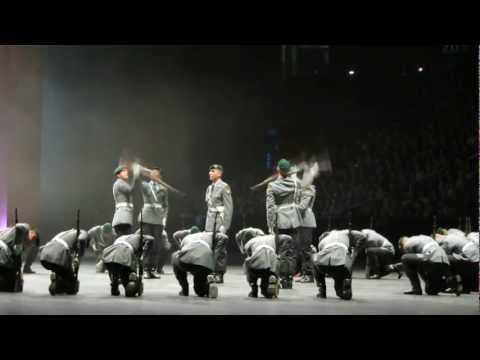Berlin Tattoo O2 World 2011 Wachbataillon Drillteam