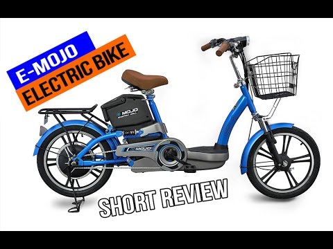 E Mojo Electric Bike Short Review Youtube