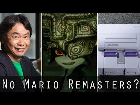 Miyamoto Doesn't Want To Remake Mario Games, SNES Classic Pre-Order Guide, Secret Zelda Game