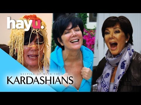 Kris Jenner's Funniest Moments | Keeping Up With The Kardashians