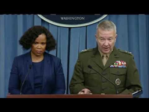 19.10.2017 Full Pentagon presser on Niger & Kurdistan. No comment.
