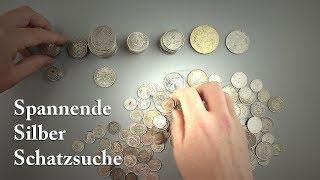 Junk Silber jetzt günstig kaufen - Unboxing Feinsilber Kilo Silberpaket - Silbermünzen Überraschung