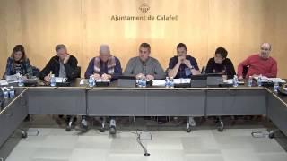Ajuntament de Calafell: sessió plenària ordinària, 6 de febrer de 2017