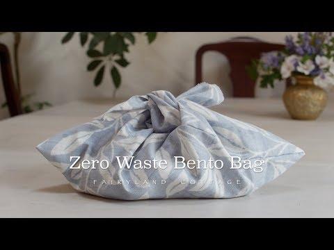 DIY - Zero Waste Bento Bag - YouTube