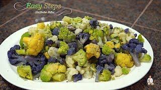 Tasty, Delicious Cauliflower Oil-Free Vegan Recipe | Cooking Frozen Cauliflower in Air Fryer