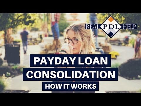 Payday Loan Consolidation: How it Works