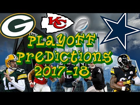NFL Season + Playoff Predictions 2017-18 | Realistic Predictions|