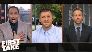 Tim Tebow goes off on Michigan and Harbaugh after loss to Notre Dame | First Take | ESPN