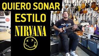 ¿Cómo conseguir un sonido de guitarra al estilo NIRVANA?