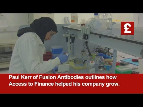 Fusion Antibodies | How Access to Finance has helped their business