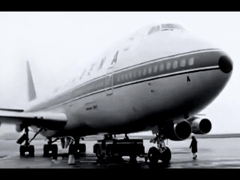 "Sabena Boeing 747-129 - ""Brussels to New York"" - 1973"