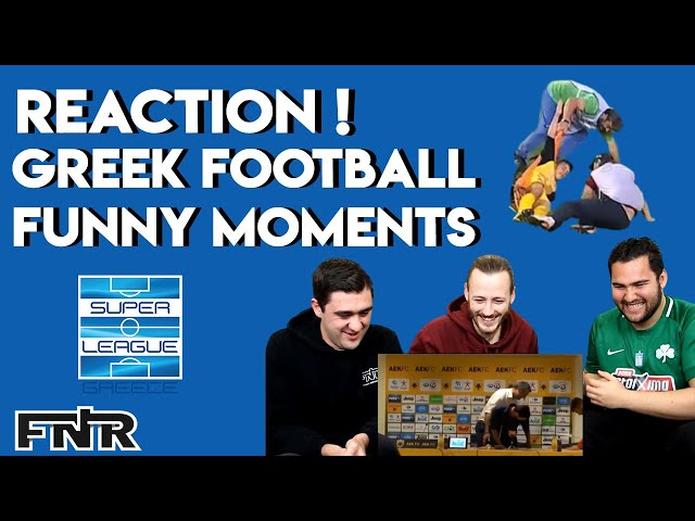 The Best Greek Football Funny Moments! | Australian Reaction