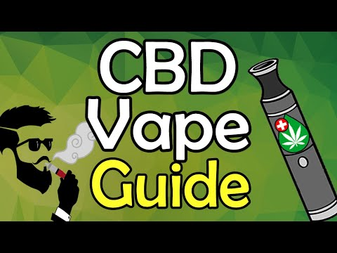 CBD Vape Guide || How To, Best Brand, Dosage, Benefits, Side Effects Of Vaping CBD Oil & MORE!