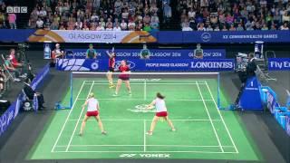 WD - 2014 Commonwealth Games badminton