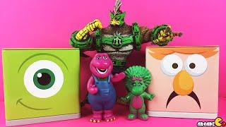 Cubeez Filled Surprise Egg Doc Mcstuffins Ben 10 Kickin Hawk Barney And Friends Figures Unboxing