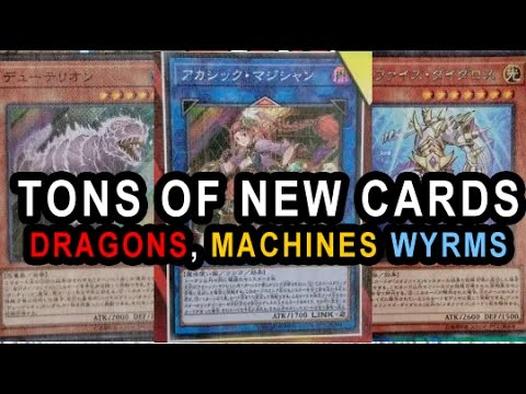 SO MANY NEW CARDS! NEW WATER H20 DINOSAUR SUPPORT! SNIFFING DRAGON, VARREL DRAGONS, ROIDS, CYBERSE