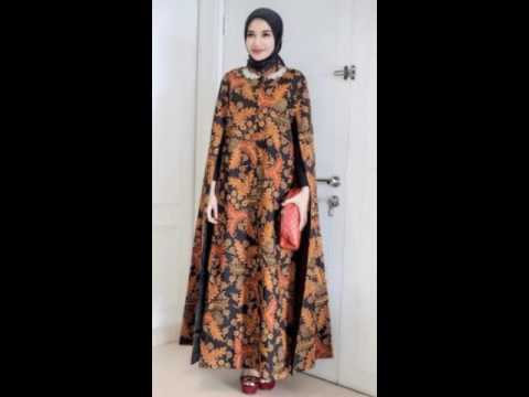 Model Baju Lebaran Muslim Wanita Terbaru 2017 Youtube