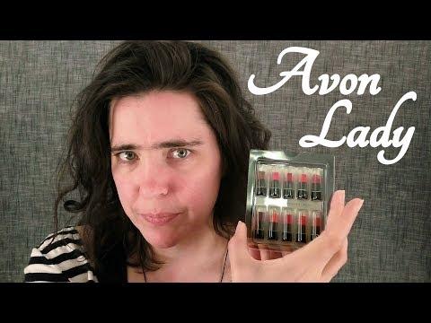 *Whisper* ASMR Avon Lady Role Play (Lipstick Sales)   ☀365 Days of ASMR☀