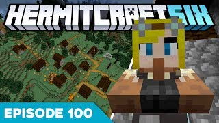 Hermitcraft VI 100 | UPDATING TO 1.14... HYPE?! 🙄 | A Minecraft Let's Play
