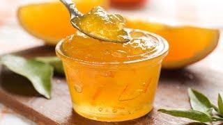 Апельсиновый джем рецепт с пектином. За 5 минут. Можно варить БЕЗ САХАРА.