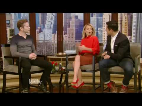 Matt Czuchry interview interview Live With Kelly 12/01/2016 co host Mark Consuelos