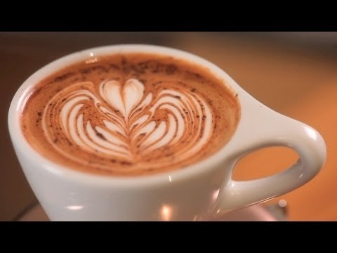 How to Use Chocolate Powder | Latte Art